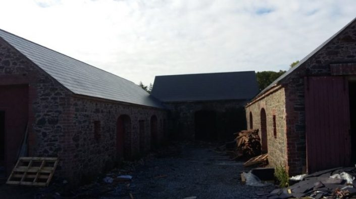 Old Stone Building Roof Repair Roofing Wexford